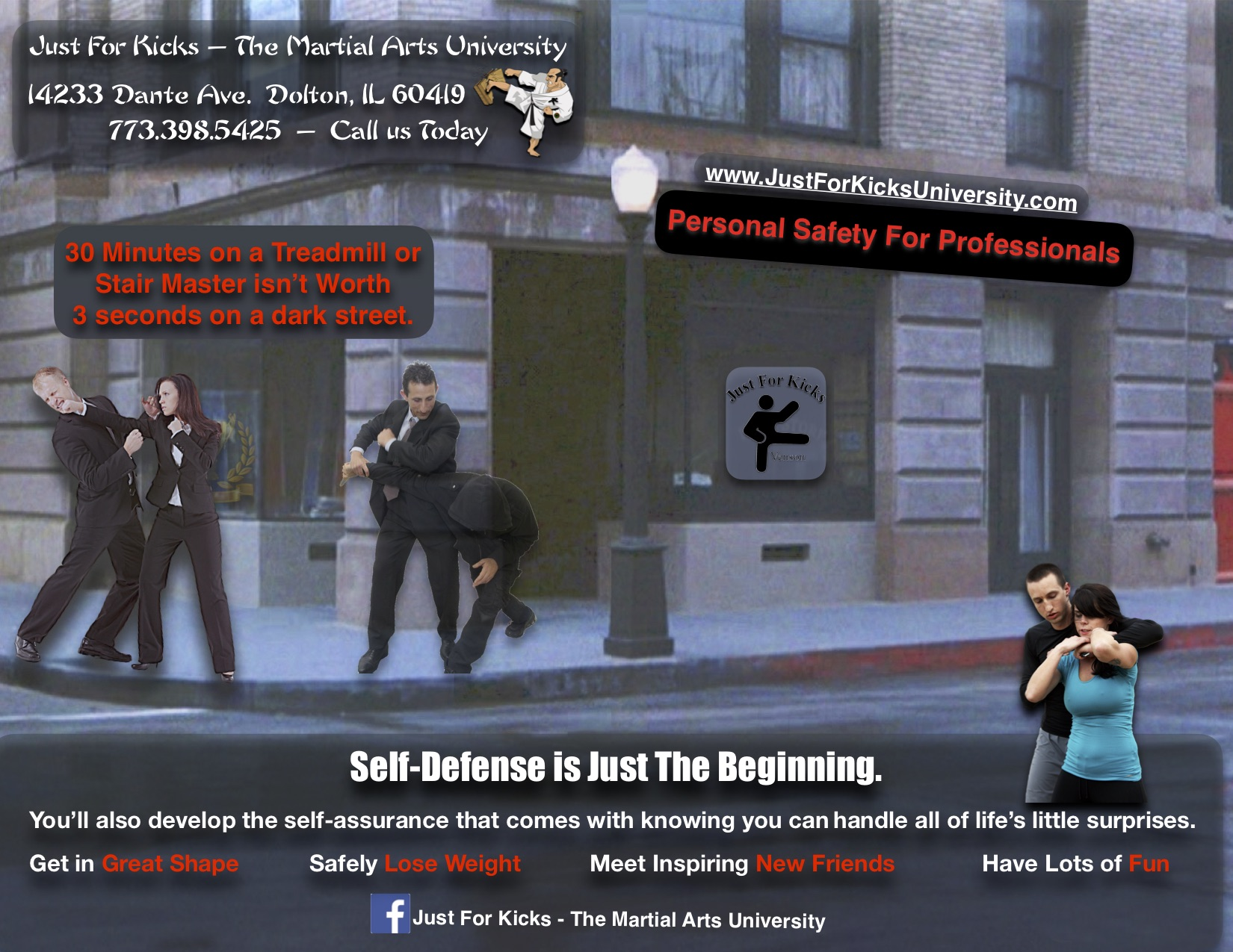 Self Defense Ad - Professionals